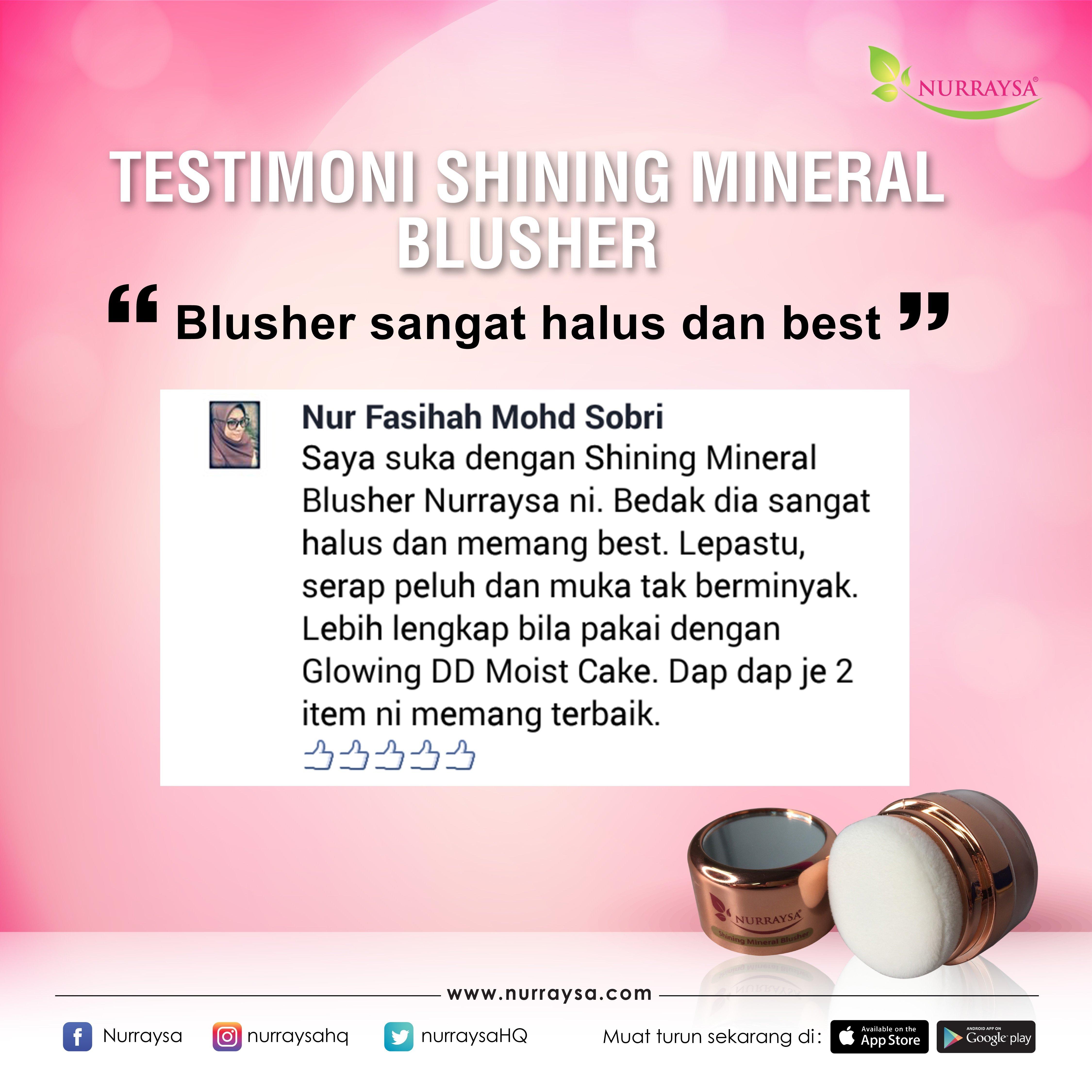 Testimoni Mineral Blusher 10