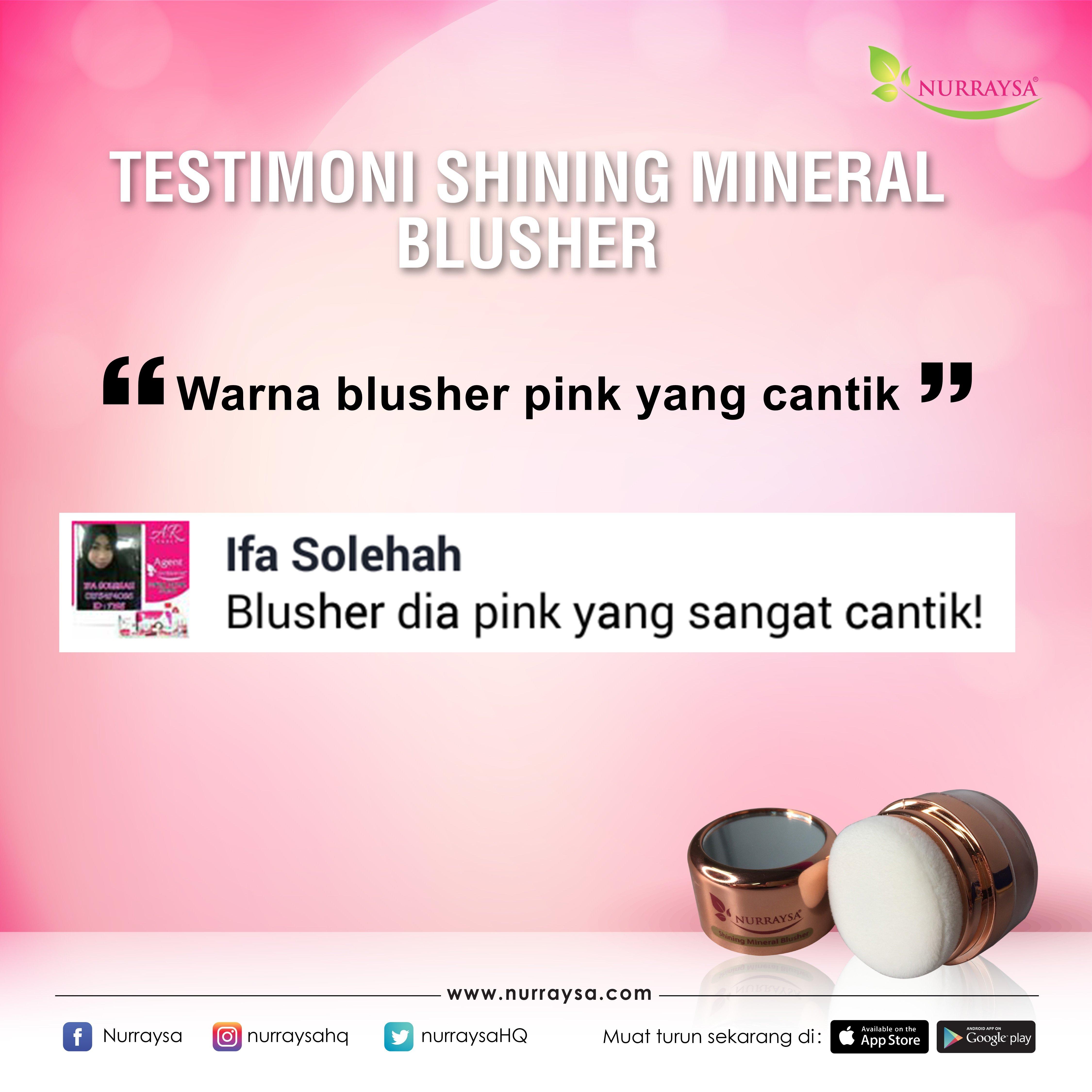 Testimoni Mineral Blusher 2
