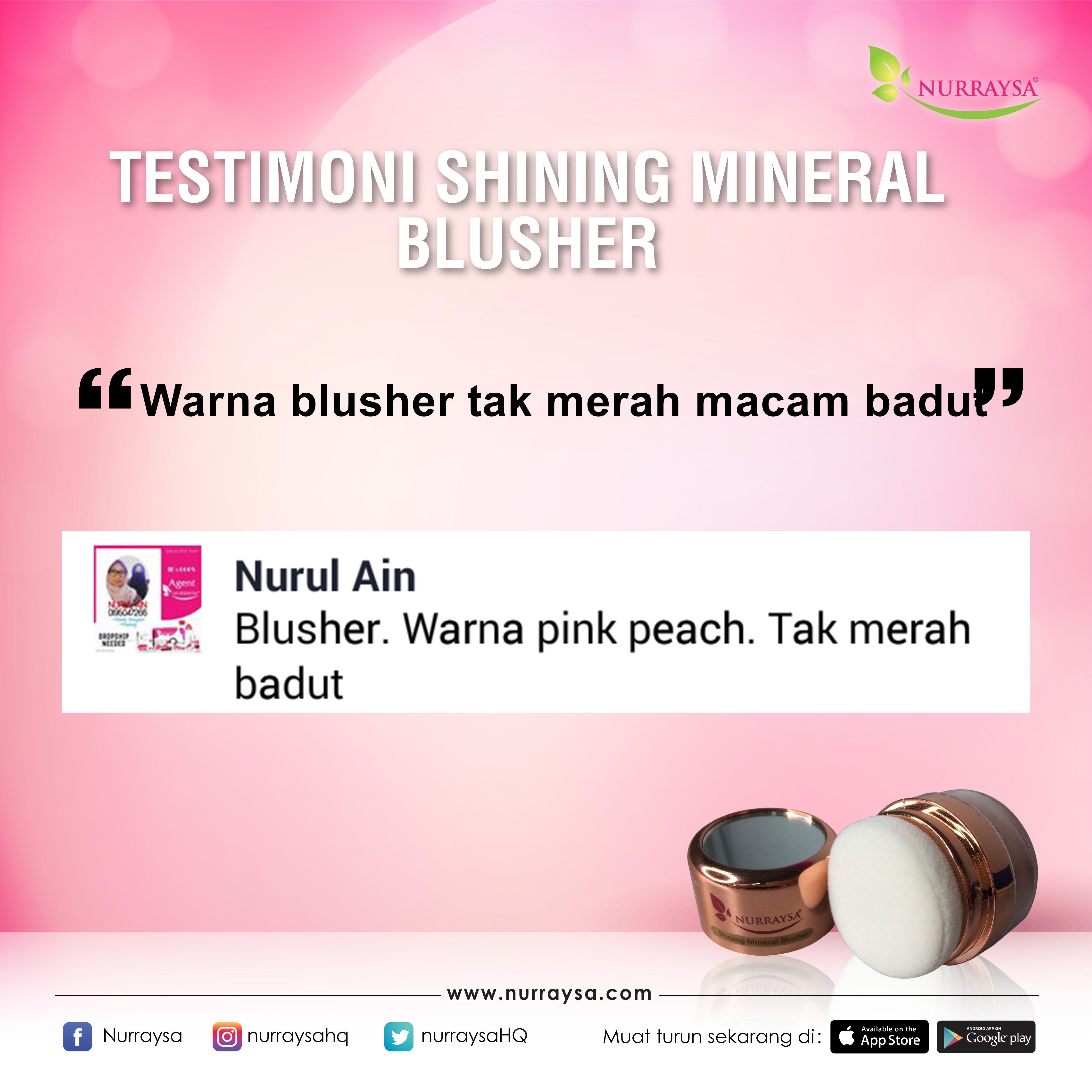 Testimoni Mineral Blusher 4