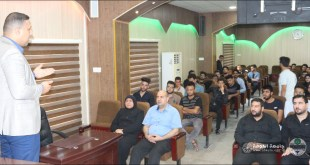 A course on first aid was conducted at the our college under the supervision of Assistant teacher Mohammed Hakim