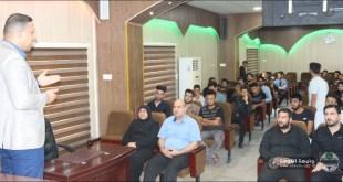 أقيمت في كليتنا دورة عن الأسعافات الأولية بإدارة المدرس مساعد محمد حاكم
