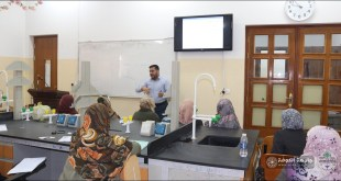 The Basic Sciences Branch at the Faculty of Nursing holds a training course