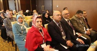 Dean of our College Dr. Rajha Abdul Hassan Hamza Participates in the Third Medical Conference
