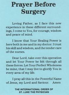 20 Short But Effective Prayers For Surgery NurseBuff