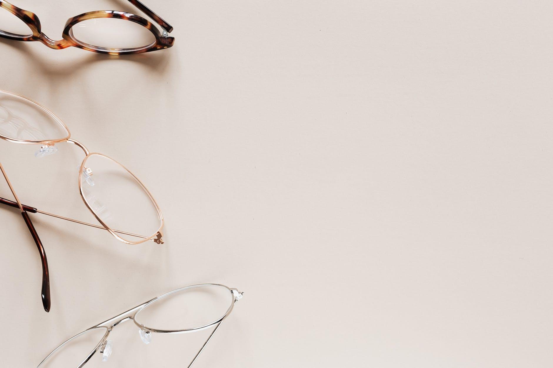 stylish various eyeglasses for vision correction