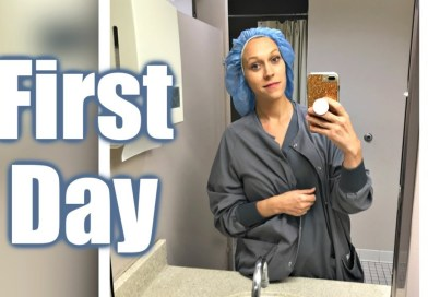 First Day at My New Job | Day in the Life of a Nurse Vlog