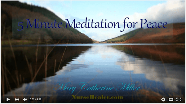 5 Minute Meditation for Peace