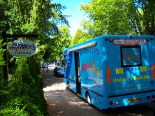 Book Bus at Nursery Rhymes