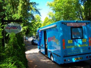 Book Bus at Nursery Rhymes