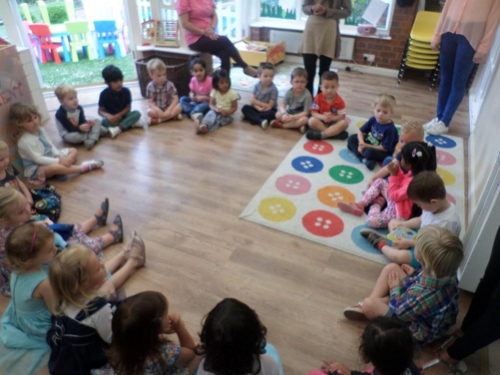 chidcare pre-school party