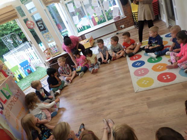 pre-school at Nursery rhymes leicester