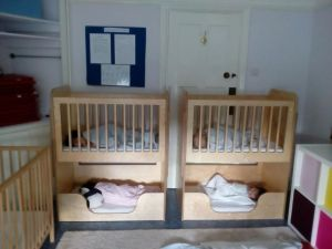 Cots for sleeping babies