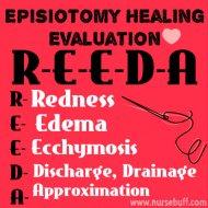 episiotomy-healing-evaluation-nursing-acronym