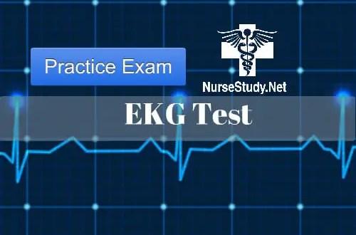EKG practice exam