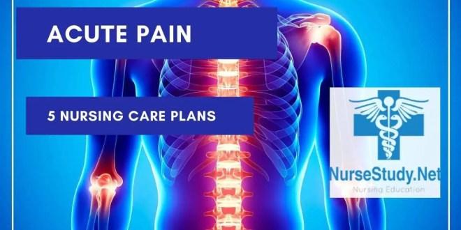 Acute Pain Nursing Care Plan