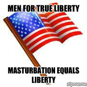Men: Masturbation Equals Liberty!