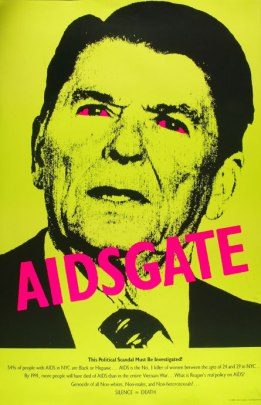 Gran Fury, AIDSgate, 1987, Silence = Death Project.