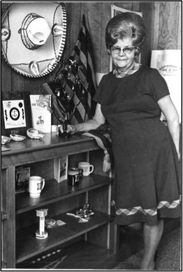 Esther Manz, founder of TOPS, 1973. (TOPS Private Collection)