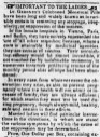 """Dr. Geissner's pills,"" The Star of the North (Bloomsburg, PA), Nov. 29, 1855. (Source: Chronicling America: Historic American Newspapers, Library of Congress. Image provided by: Penn State University Libraries, PA.)"