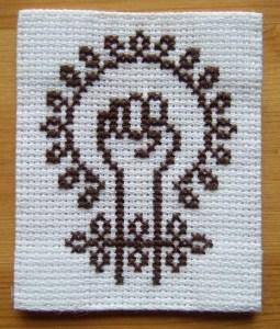 Feminism. (Cross-stitch ninja/Flickr CC BY-NC-ND)
