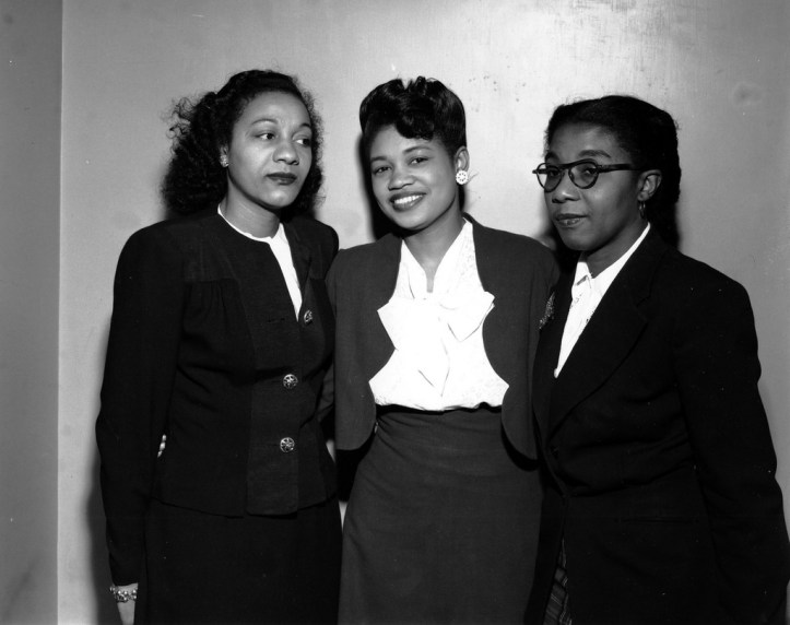 Maida Springer (Kemp), center, an influential activist in the labor and civil rights movements. (Kheel Center, Cornell University/Flickr | CC BY)