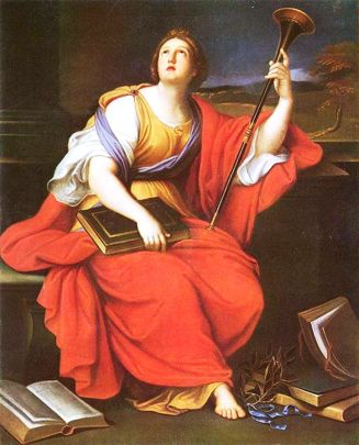 "Pierre Mignard, ""Clio, Muse of History,"" 1689."