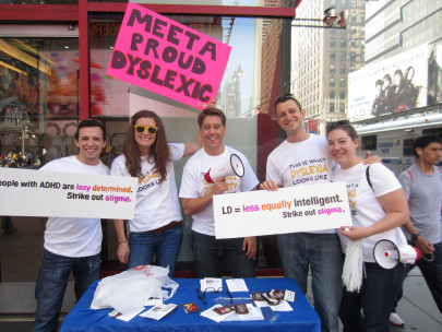 LD Aware in Times Square, Learning Disability Awareness Month, 2012 (Eye to Eye National/Flickr | CC BY)