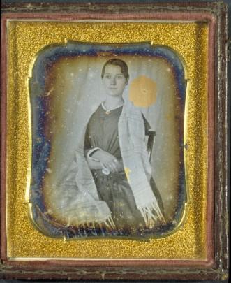Portrait of Elizabeth Blackwell, ca. 1841-1851. (Courtesy of Schlesinger Library, Radcliffe Institute, Harvard University)