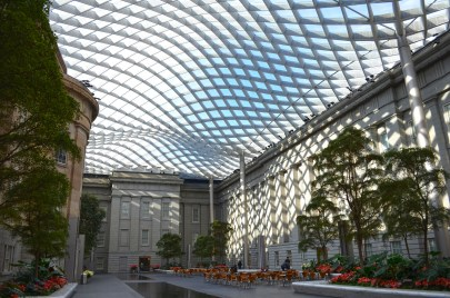 Kogod Courtyard, Smithsonian American Art Museum. (/Flickr | CC BY-SA)