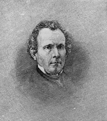 Sylvester Graham (1794-1851). (Harper's, 1880/Library of Congress)