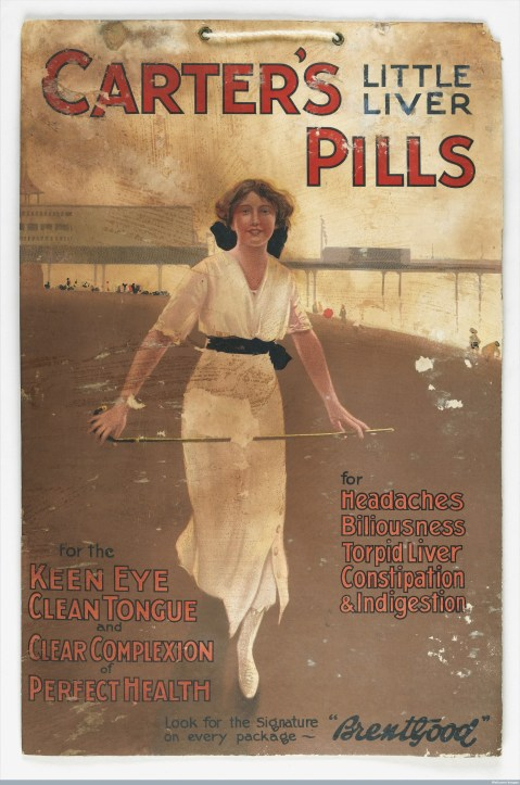 Carter's Little Liver Pills Credit: Wellcome Library, London. Wellcome Images images@wellcome.ac.uk http://wellcomeimages.org Published: circa 1910.