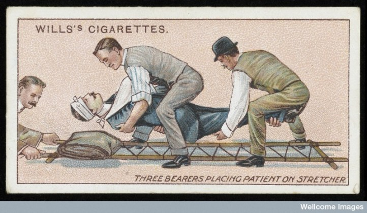 Willis's cigarette card, Wellcome Library, London. Wellcome Images images@wellcome.ac.uk http://wellcomeimages.org