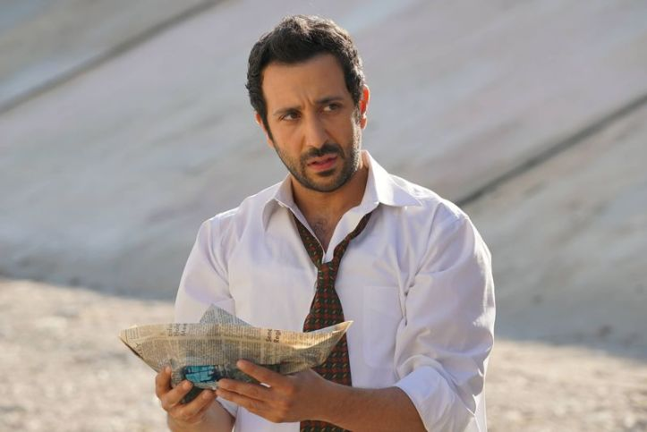 Desmin Borges as Edgar in full spiral on You're the Worst. (FXX)