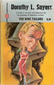 Dorothy L. Sayers, The Nine Tailors, book cover.