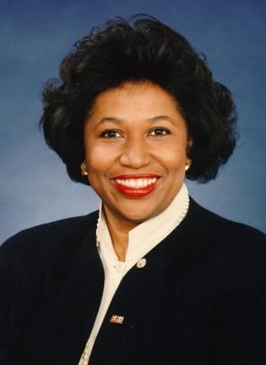 Senator Carol Moseley Braun (Illinois), 1993. (United States Congress/Wikimedia | Public domain)