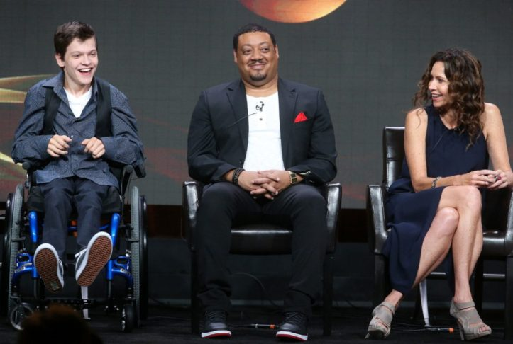 Speechless actors Micah Fowler, Cedric Yarbrough, and Minne Driver. (Frederick M. Brown/Getty)
