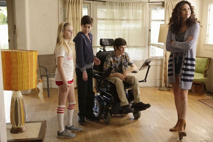Siblings in ABC's Speechless. (ABC)