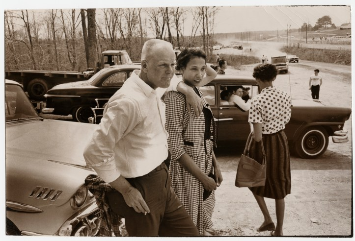 Richard and Mildred Loving at the Sumerduck dragway, in Summerduck, Virginia. (Villet Grey)