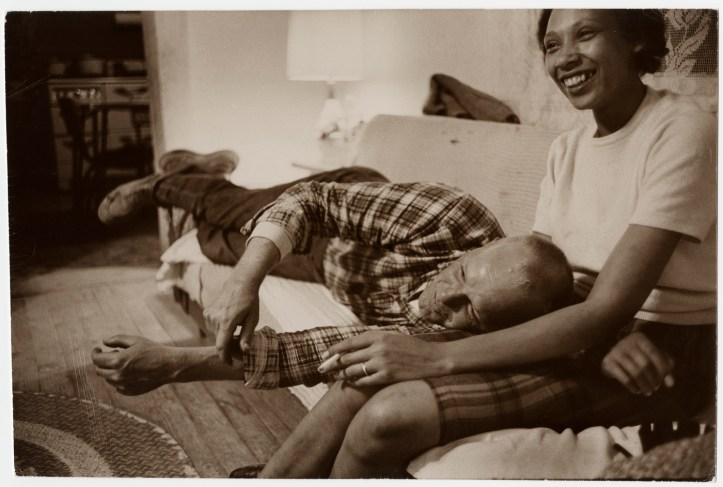 Richard and Mildred Loving in their living room, in King and Queen County, Virginia. (Grey Villet)