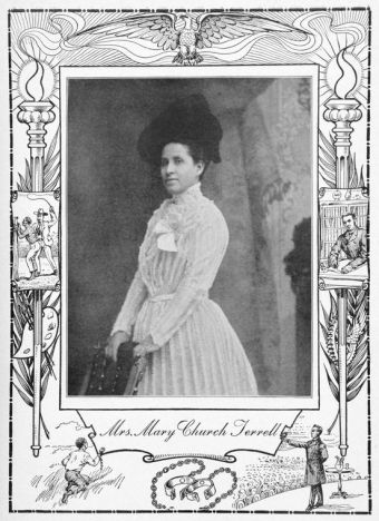Portrait of Mary Church Terrell, 1902. (Daniel Wallace Culp/Schomburg Center/NYPL | Public domain)