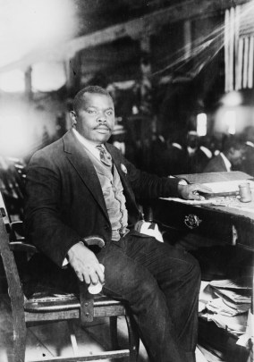 Marcus Garvey, photographed in 1924. (Library of Congress | Public domain)