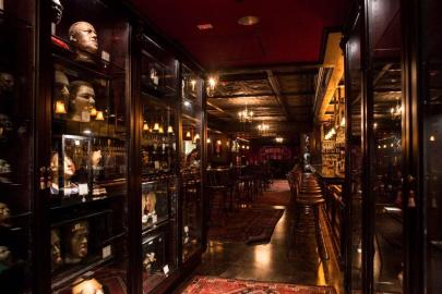 """Witness the 'Wall of Genitals'"": Anatomical Display at Brooklyn's House of Wax"