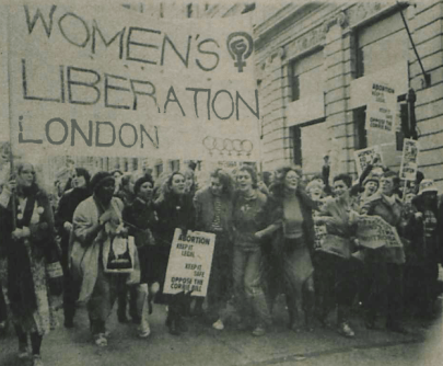 100,000 Women in Trafalgar Square: Remembering The Forgotten Women's March of 1979