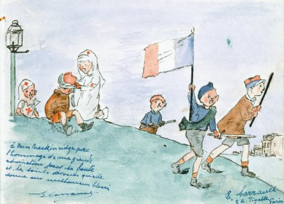 """""""Self-Sacrificing Service"""": The Life and Death of a Red Cross Nurse in Wartime France"""