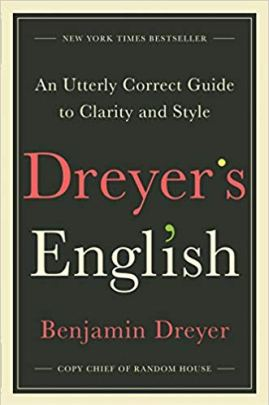Black book cover with the words Dryer's English written in large red and white text.