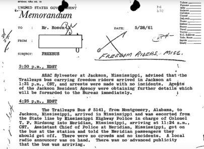 FBI Files and Historical Practice