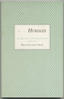 A book cover featuring an aqua background and a white square with the title printed across it.