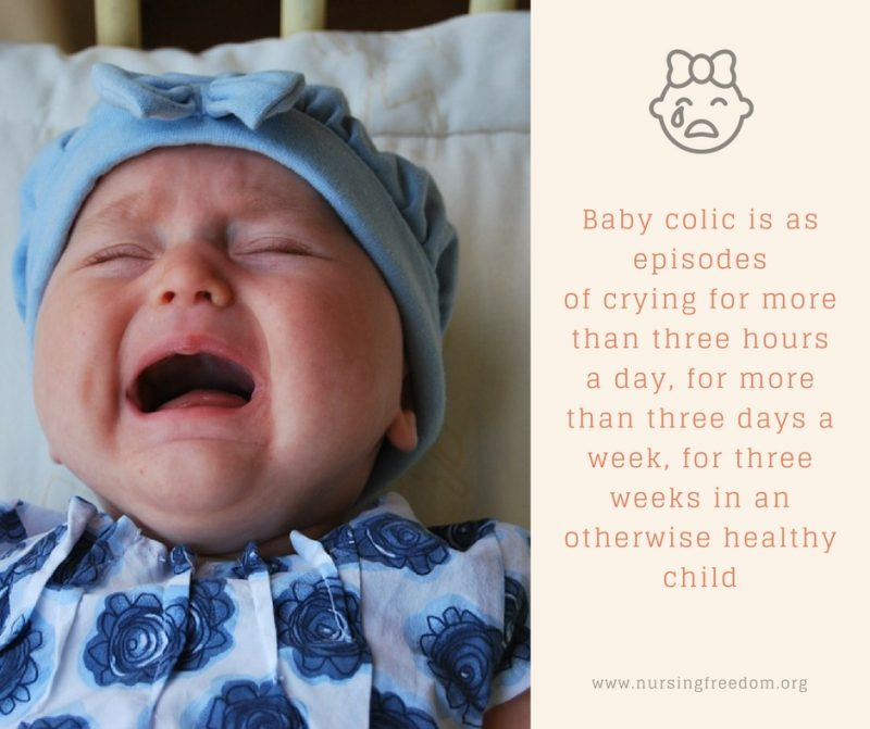 3 week old Baby - Baby colic