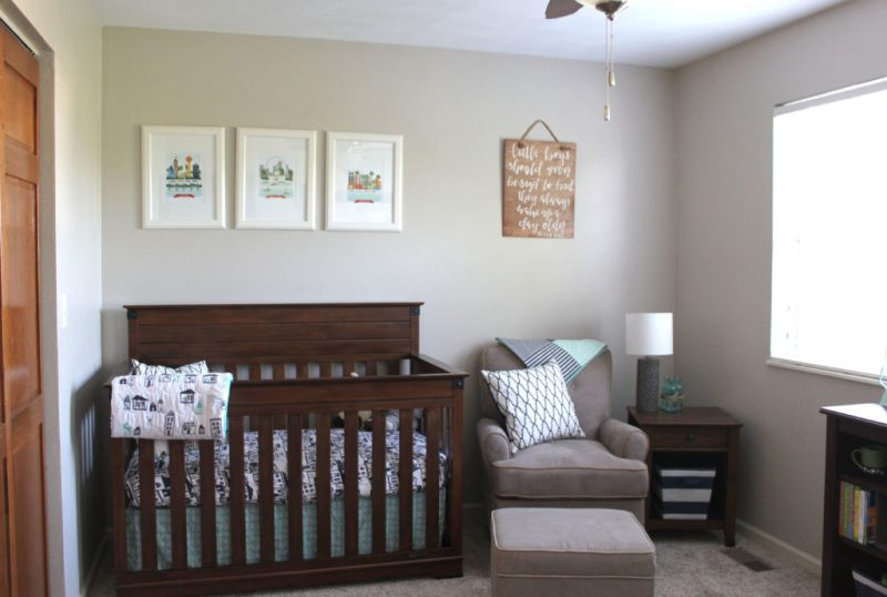 Baby Boy Nursery Ideas - Adventure Awaits Nursery