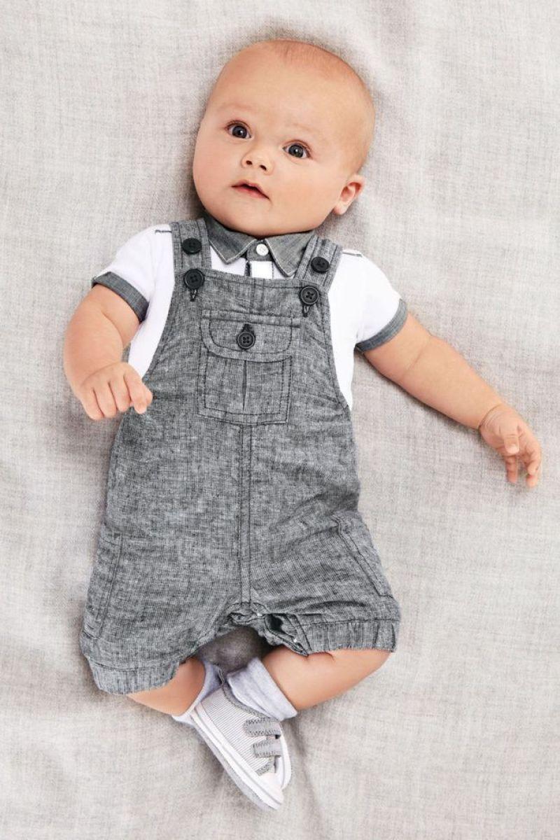 newborn baby boy - Boy coveralls